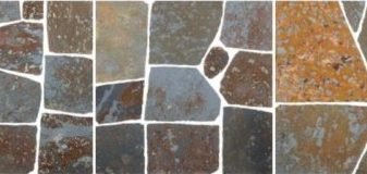 SLATE – RUSTY SLATE – FLAGSTONES- MANUAL CUT