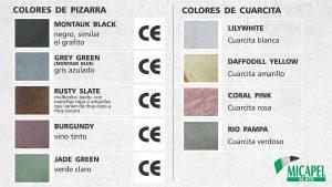 Colores de Pizarra